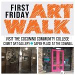First Friday Artwalk CCC Comet Gallery