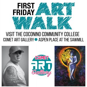 First Friday at the Comet Art Gallery