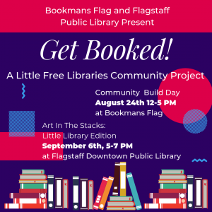Get Booked! A Little Free Library Community Project