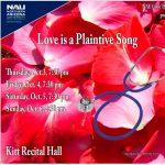 "NAU Lyric Theater presents: ""Love is a Plaintive Song"""