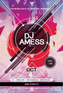 DJ Amess 1st Friday at The McMillan