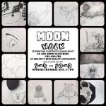 Moon Walk Art Reception