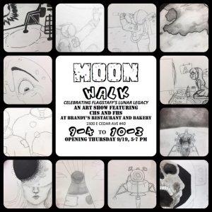 Moon Walk Art Reception