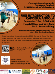 Free Introduction to Capoeira Angola Class