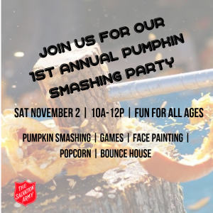 1st Annual Pumpkin Smashing