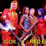 Red Elvises in Concert