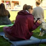 Puppy Yoga with Holly White!