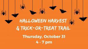 Halloween Harvest & Trick-or-Treat Trail