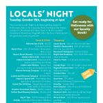 October Locals' Night
