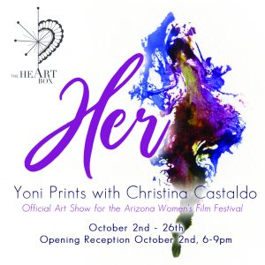 """Her"" Yoni Prints with Christina Castaldo"