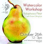 Watercolor Workshop: Voluptuous Pear