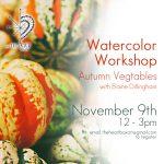 Watercolor Workshop - Autumnal Vegtables