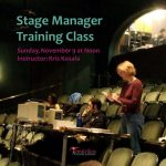 Stage Manager Training Workshop