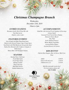 Christmas Champagne Brunch