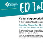 CCC Ed Talk: Cultural Appropriation