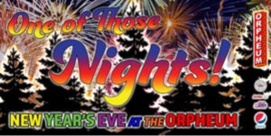 New Year's Eve at The Orpheum