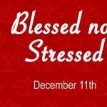 Blessed Not Stressed