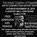 The Artists' Coalition of Flagstaff ARTS CONNECTION HOLIDAY ART EXPO