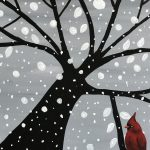 Paint the Town with Creative Spirits and Historic Brewing Taproom (Snowy Cardinal)