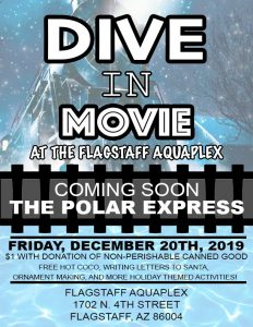 Holiday Canned Food Drive at the Flagstaff Aquaplex