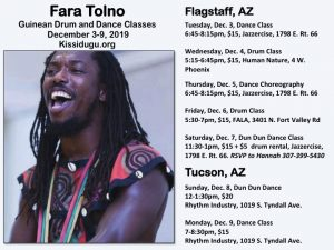 West African Drum and Dance Class
