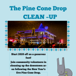 Great Pine Cone Drop CLEAN UP