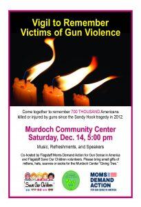 Vigil to Remember Victims of Gun Violence
