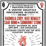 A Winter Solstice Indigenous Acoustic Revue