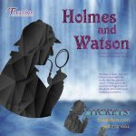 Sherlock Holmes and Detective Watson. A Stage Perf...