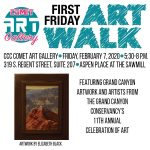 First Friday Art Walk at the Comet Gallery