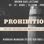 Prohibition: The Law, The People and The Places of Arizona