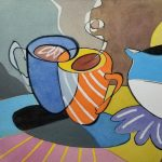 Watercolor Workshop - Tea Time Abstraction