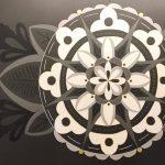 Mandala Mural Installation by Jill Sans