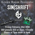 Sinshrift at The Green Room