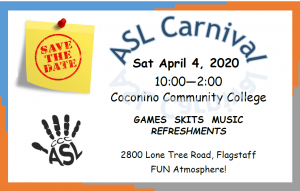CANCELED: American Sign Language Carnival
