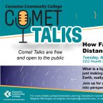 CCC Comet Talk: Myths and Distance in Our Night Sky