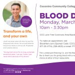 Phi Theta Kappa Blood Drive at Coconino Community College (Canceled)