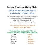 "Dinner Church at Living Christ - Theme: ""Joy"""