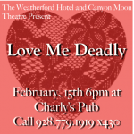 Love Me Deadly - A Stage Performance and Dinner