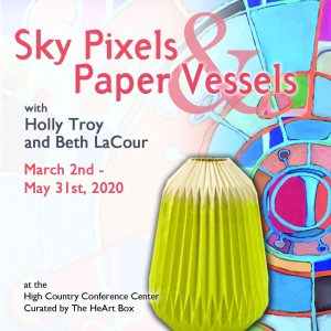 Sky Pixels and Paper Vessels