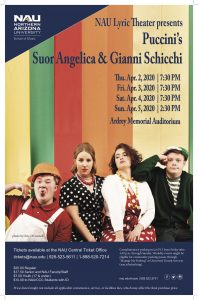 "NAU Lyric Theatre Presents Puccini's ""Suor Angelica"" and ""Gianni Schicchi"" - CANCELED"