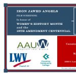 Film Screening of Iron Jawed Angels (Canceled)