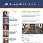 2020 PMI Distinguished Lecture Series | Panel Discussion - CANCELED