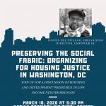 Preserving the Social Fabric: Organizing for Housing Justice in Washington, DC