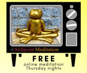 Online Meditation every Thusrday night