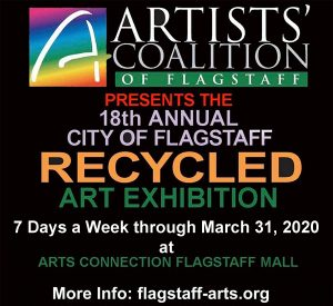 The FREE 18th Annual City of Flagstaff Recycled Ar...