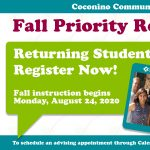 Fall Instruction Begins at Coconino Community College