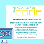 Girls Who Code: Summer Immersion Program