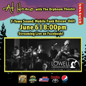 At Home with The Orpheum Theater: An F-Town Sound Live Stream