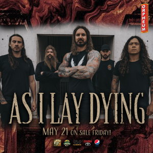 **CANCELED**As I Lay Dying: A Live Concert